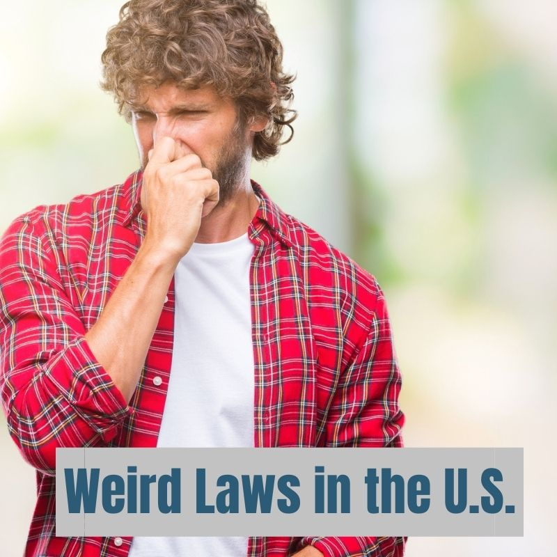 Don't even think about raising a stink in Alabama! It's illegal to throw any type of #StinkBomb there. #WeirdLaws