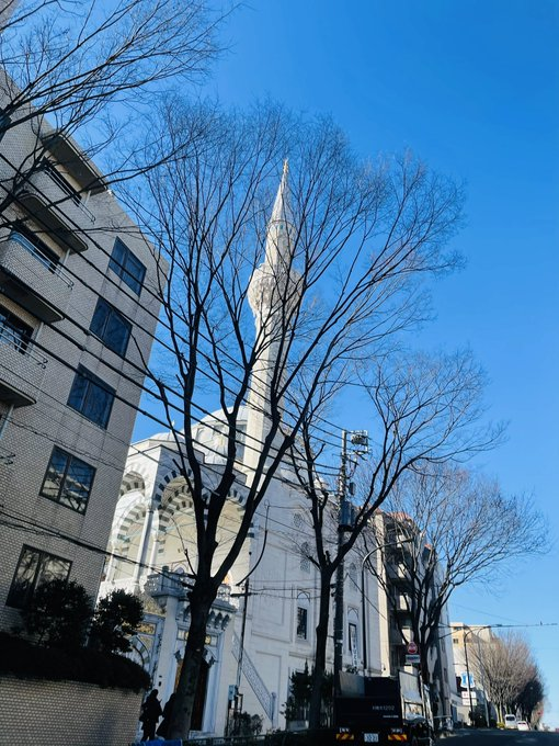 أجمل صور جامع طوكيو في اليابان روعة ما شاء الله