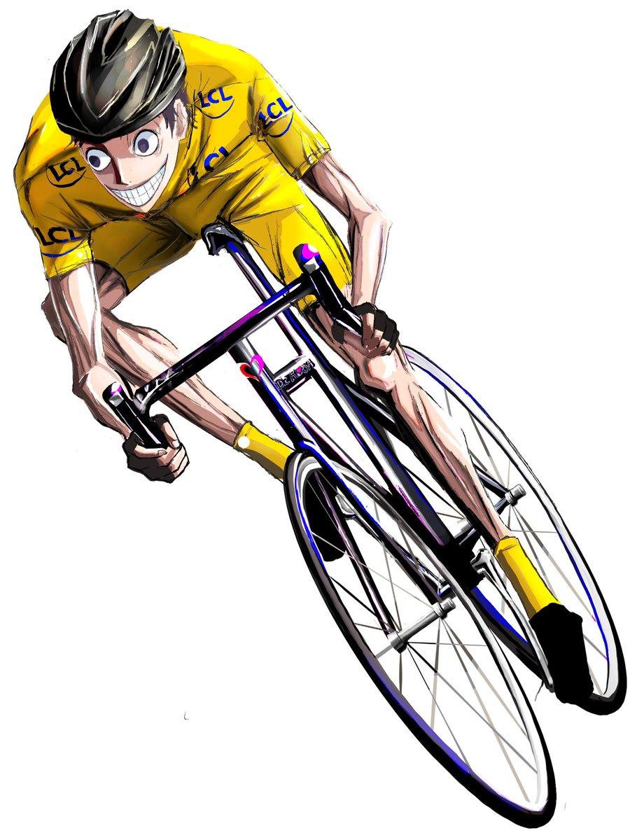 弱虫ペダル 絵描きさんと繋がりたい 二次創作 夢を叶えた御堂筋君と自転車描けました Misaのイラスト