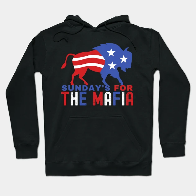 Check out this awesome 'Sunday's For the Mafia' design on @TeePublic!   #USA #AmericasCup #California #NYC #Biden #BidenTakeAction #Florida #Bills #BillsMafia #MafiaCity #SundayThoughts #MAFIA #BuffaloBills #Buffalo #BUFvsKC #Niagara #NFL