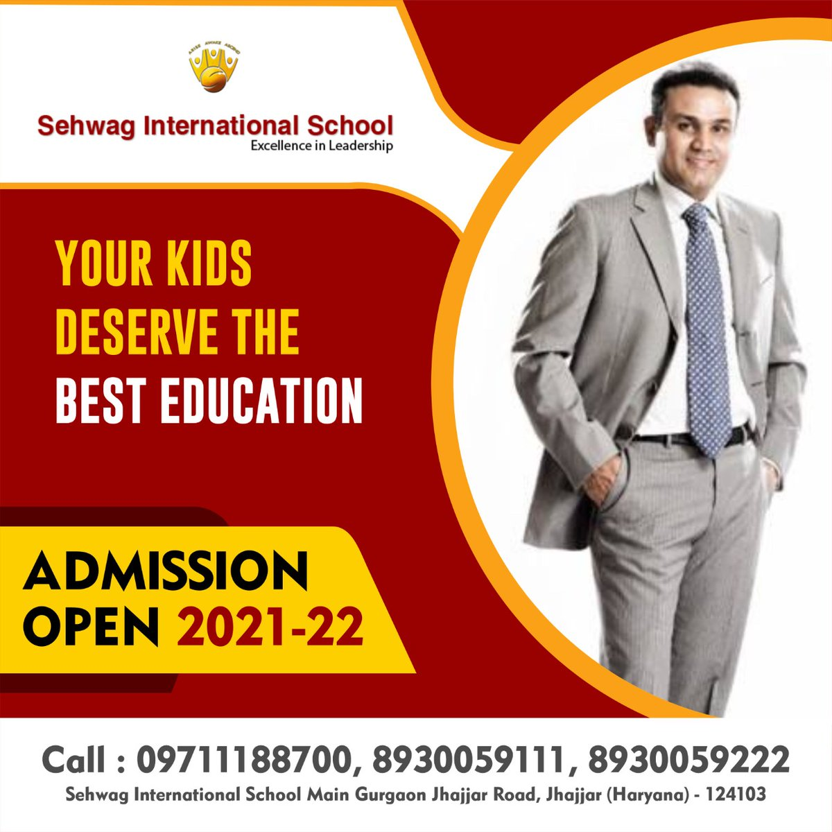 We build a bright future for your child. We are the best educationists with well trained teachers, individual education plans, loving and caring environment.  Teaching is our passion and your child is our priority.  Call Now : 09711188700, 8930059111, 8930059222