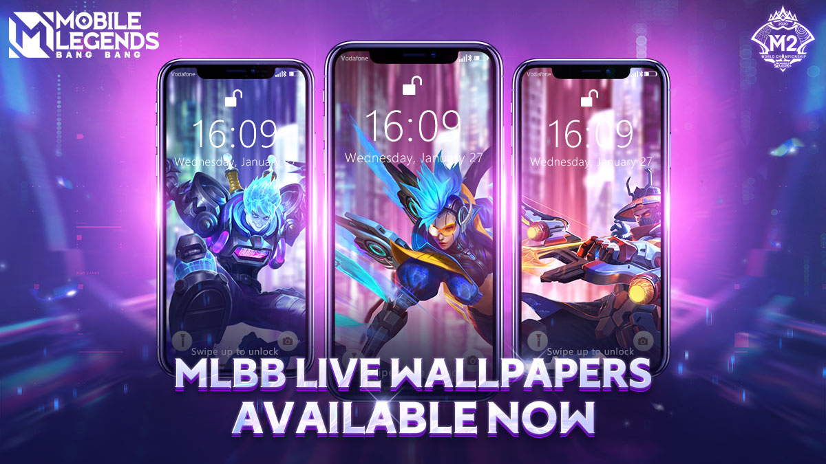 Mobile Legends Bang Bang On Twitter Mlbb S Official Animated Live Wallpapers Are Available Now We Ve Got You A Cyberpunk Style Wallpaper And More Download It Now Via The Link Below Link Https T Co Kfn5zo7jmn