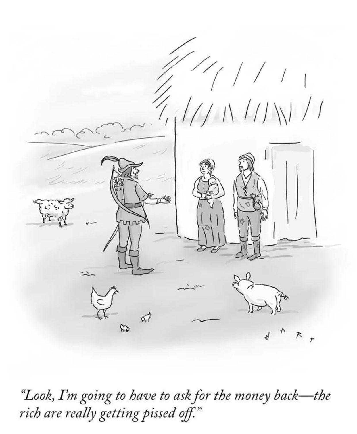 New Yorker comic