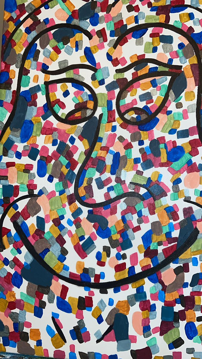 Work in Progress #art #painting #artist #decor #complexitiesofbeing #Abstract #ArtOfTheDay #paintingoftheday #abstractexpressionism #abstractartist