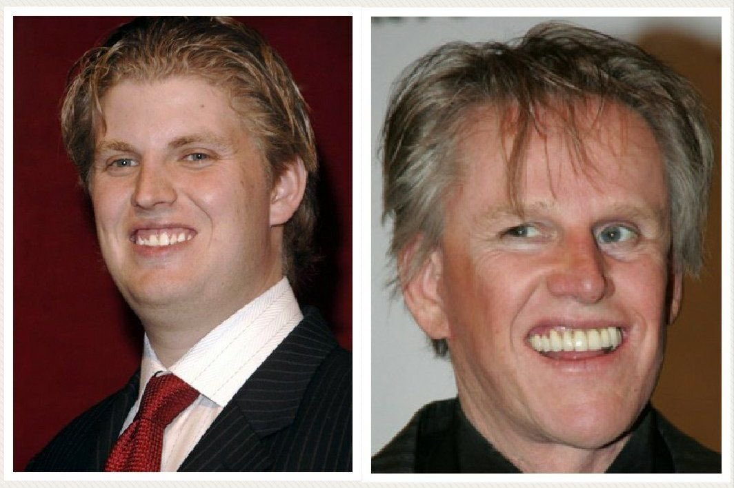 #AfterTrump Eric will admit to a DNA test with Gary Busey.