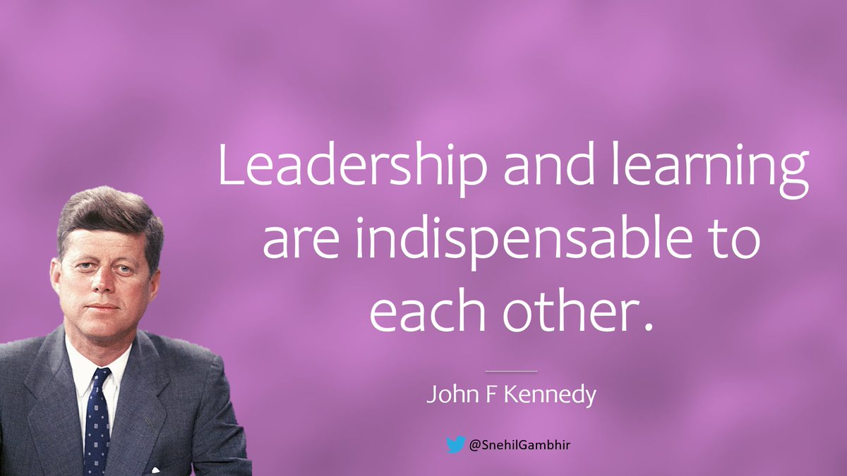 #MondayMotivaton #mondaythoughts  #MondayVibes #MondayMood #MondayMorning #Monday   Leadership and learning are indispensable to each other.  - John F Kennedy  #CuratedBySnehil #GambhirVachan #life #leadership #learning  #NeverGiveUp #JustDoIt #KeepWalking #Think #GetItDone