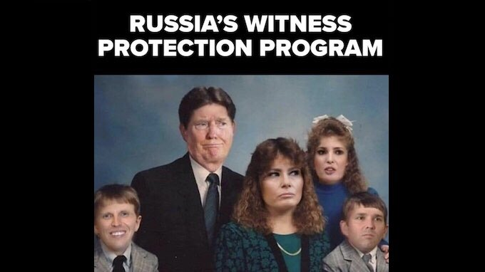 #AfterTrump there will be 5 new members of the Russian witness protection program