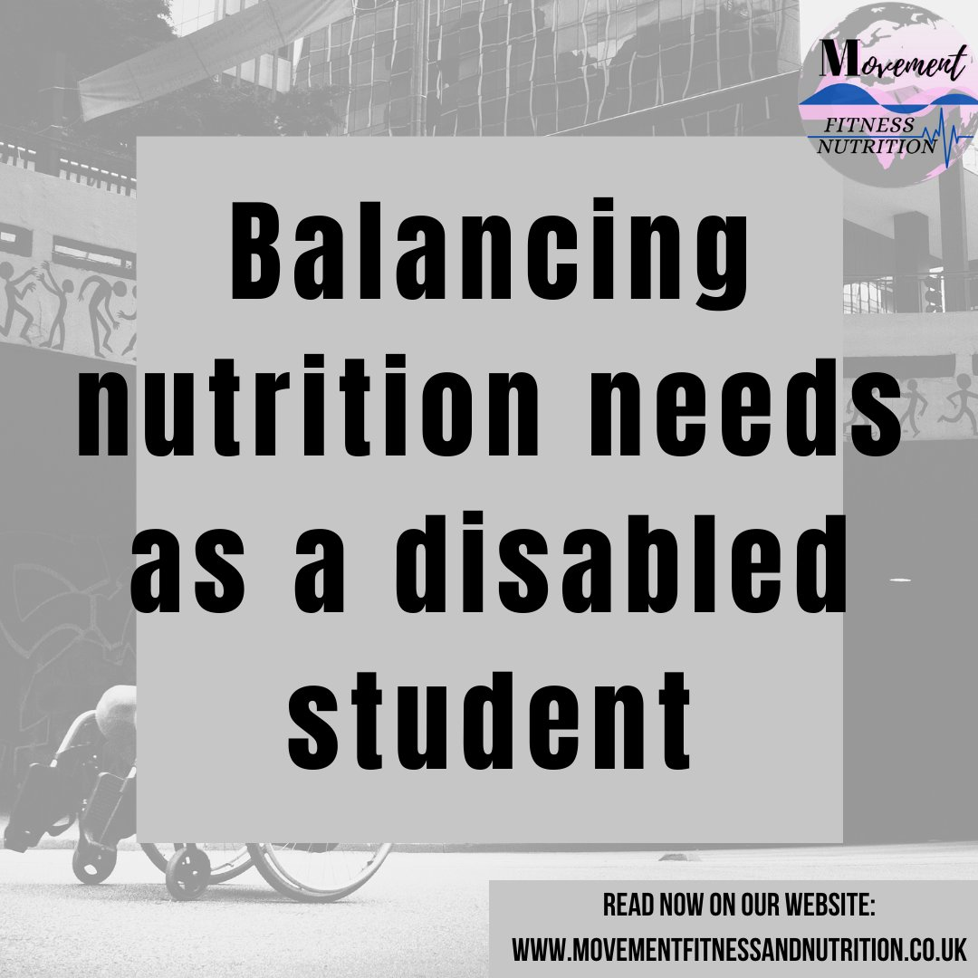 New blog post for all you students! - #movementfitnessnutrition#movement#fitnessnutrition#fitness#nutrition#fitnessmotivation#personalisedplan#disabilities#disabilityawareness#diversity#medicalconditions#motivation#nutritionmovement#dietplan#fitnessplan