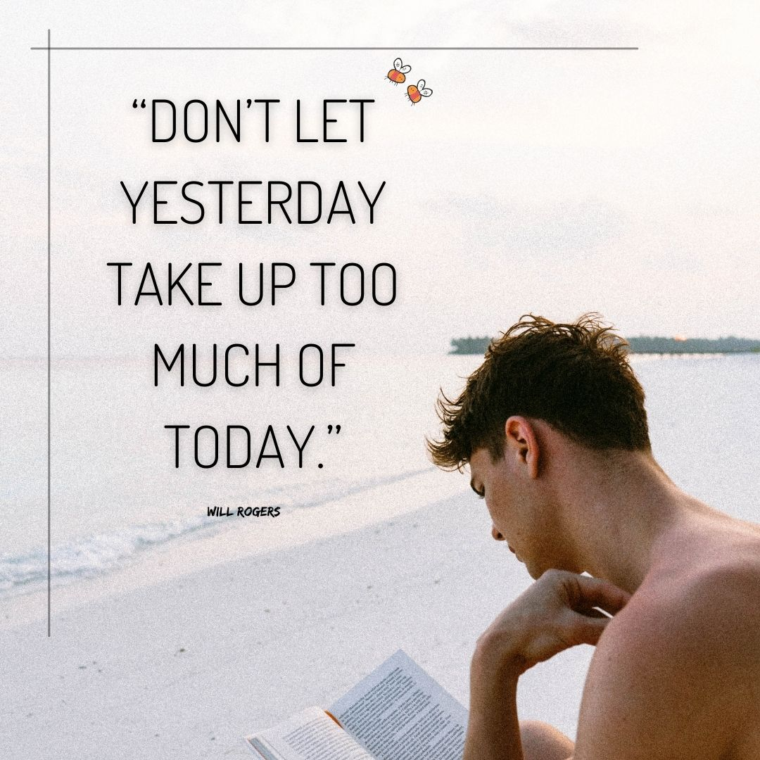 """""""Don't Let Yesterday Take Up Too Much Of Today""""  .   #Hardwork #MotivationalQuotes #Motivation #Successful #TodayInHistory #LifeGoesOn"""