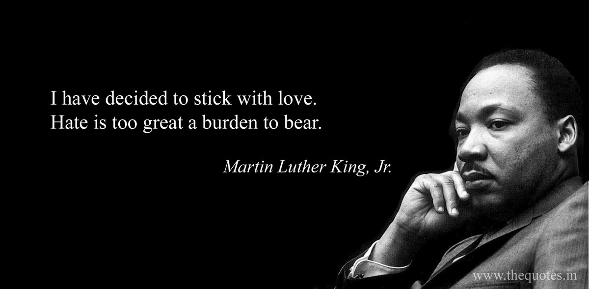 Day 267 of #365daysofquotes   #mlk #martinlutherkingday #martinlutherkingjr #martinlutherkingquotes #chooselove #instalove #love #donthate #inspirationalquotes #inspiration #motivation #motivationalquotes #civilrights #leadership #growth #growthmindset