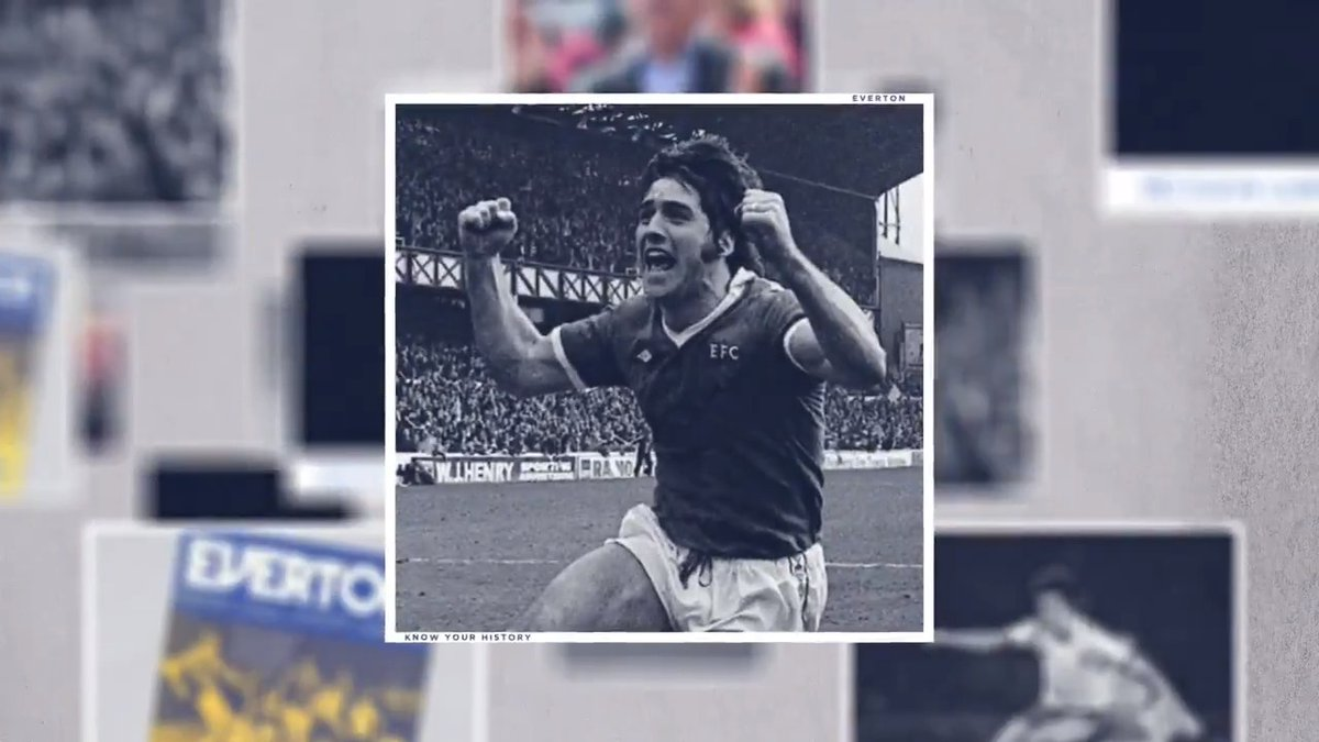 And if you know your history, you'll know all about Bob Latchford.   If you don't, now you do... #BlueFamily