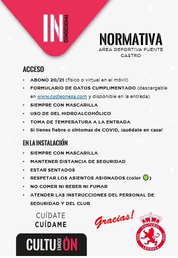 Este miércoles tenemos nueva jornada de Liga. Recordamos a nuestros aficionados que el acceso al partido sólo está permitido a socios de la @CyDLeonesa.