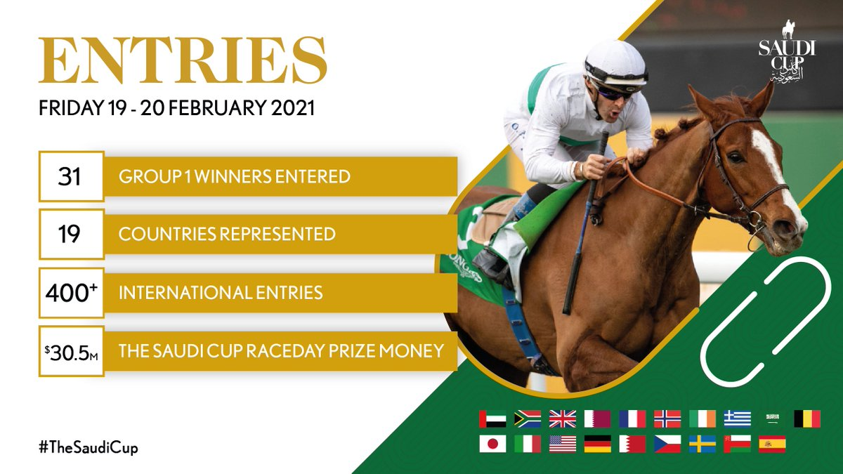 Seen #TheSaudiCup entries?  FULL LIST ⬇️   👇 TOP ENTRIES from 🇬🇧 🇯🇵 and 🇺🇸