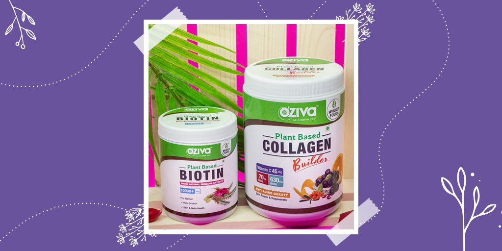 Time for some EXTRA skin and hair care😍  Subscribe to #BeautyAndarSe Special Routine that provides OZiva Plant Based Collagen Builder and Biotin for healthy skin and hair.  Now at Rs.1199/- only for 6 months! 👉  #beautycare #haircare #healthyskin #oziva