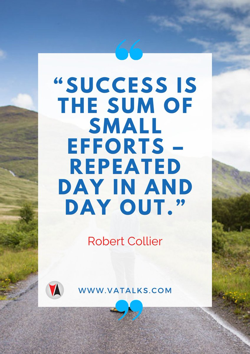 """""""Success is the sum of small efforts – repeated day in and day out."""" - Robert Collier  #influencer #thankful #life #happy #fun #love #MondayMotivation #MondayBlues #MondayMood #instagood #nofilter #photooftheday #igers #picoftheday #lifeisgood #instapic #instadaily #instamood"""