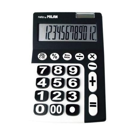 Calculadora Negra y Blanca  Para más información y precio, pincha en el enlace 👇  #calculadora #negra #blanca #blancaynegra #blancoynegro #negrayblanca #negroyblanco #negro #blanco #blackandwhite #black #white