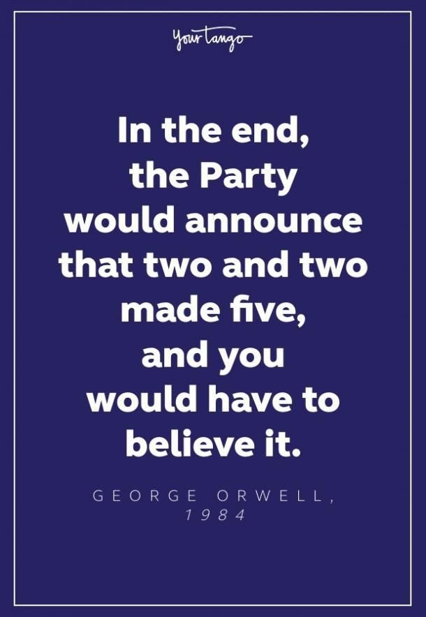 #Orwellian #1984orwell for those spouting #1984ishere