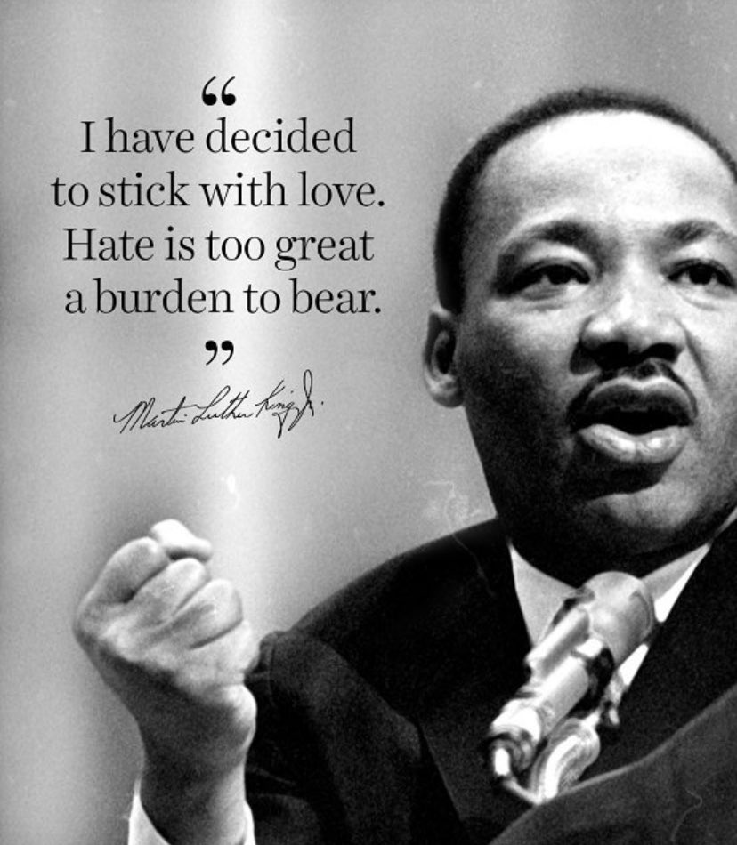 Today we honor Dr. Martin Luther King Jr. #mlk #martinlutherkingjr #courage #sacrifice #IHaveADream #civilrights #equalityforall #oakboronc #stanlycounty #northcarolina
