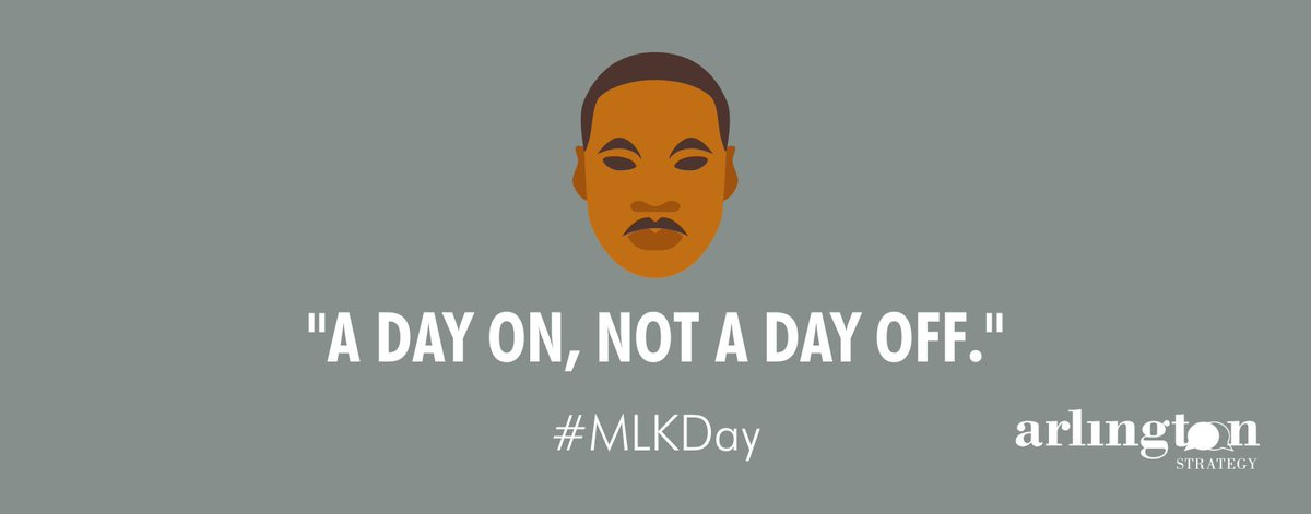Which nonprofit are you supporting today for #MLKDay? Remember, today is a day on, not a day off!  #MartinLutherKingJr #IHaveADream #StrongerTogether2021