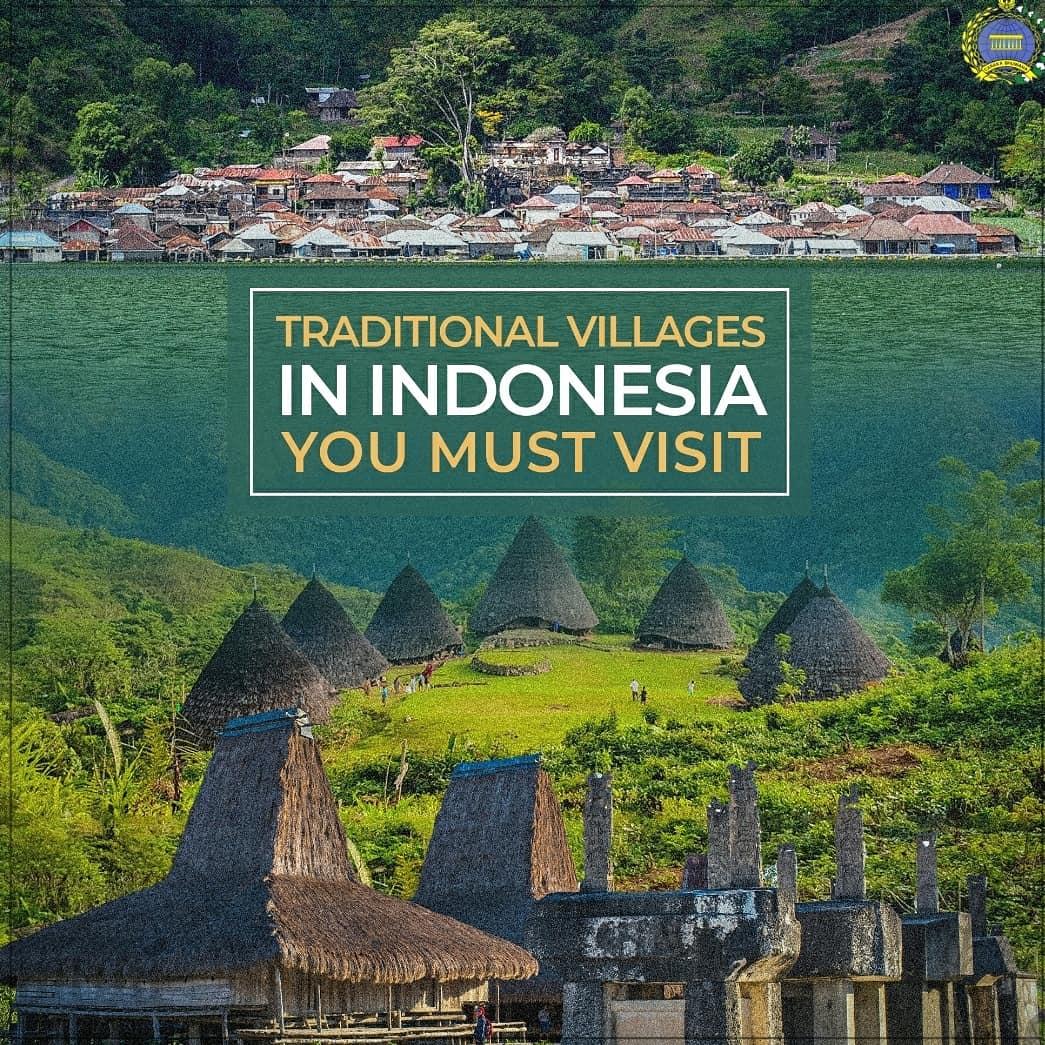 Există mai multe sate tradiționale care ar trebui vizitate atunci când călătoriți în Indonezia, cum ar fi Satul Praijing din Nusa Tenggara de Est, Satul Trunyandi Bali și Satul Wae Rebodi, Nusa Tenggara de Est.   #IniDiplomasi #RintisKemajuan #DesaTradisional #DesaIndonesia https://t.co/twtnzwpFdy