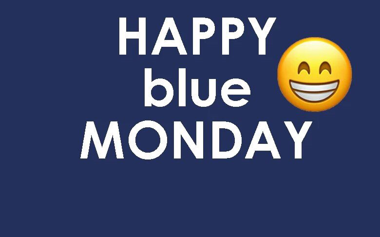 Don't let today be Blue for you 💙 Happy #BlueMonday , make sure  you #taketime to look after yourself and yours #bitheblue #goodvibes #BePositive