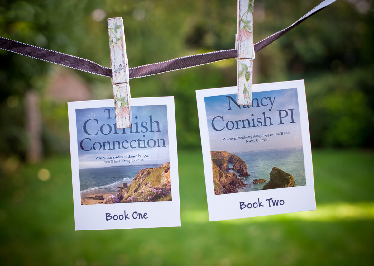 Curl up with a good book  this chilly #January day, and meet Nancy #Cornish.  An ordinary woman with an extraordinary secret!  ⭐️⭐️⭐️⭐️⭐️A compelling and unique series.   Books 1&2       #BookClub  #Cornwall #mondaythoughts #mystery