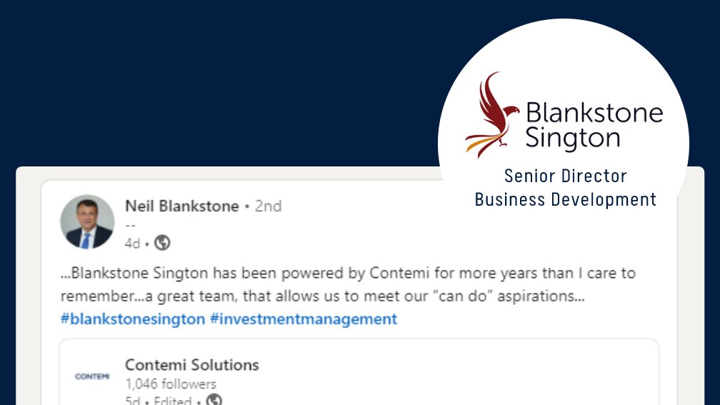 It brings us so much joy to hear from our #clients & what's more amazing is to see them using these wonderful terms to describe us.  It truly feels great to know that our efforts are paying off & we are moving in the right direction. Thanks to Neil! #wealthmanagement #wealthtech