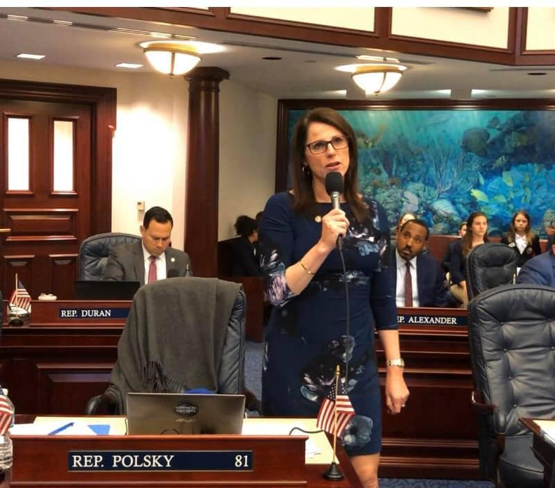 .@TinaPolsky joins @CHunschofsky to increase regulations on home gun storage, via @realRyanNicol    #FlaPol