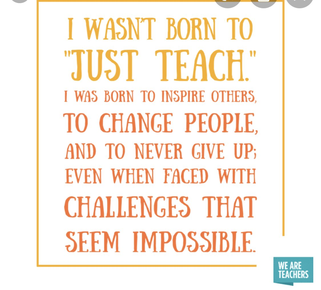 Challenging times but we NEVER give up! Keep at it everyone!❤️👏🏿#Edupe #edutwitter #education #teachers #TeacherStrong #TogetherWeCan #positivemindset #MotivationalMonday