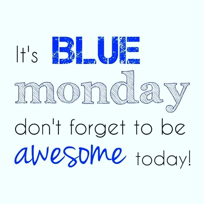 Positive mind, positive vibes, positive life. Blue Monday, we've got this 💪🏻 #BlueMonday #positivemindset #wevegotthis #MondayMotivation #mondayfitness