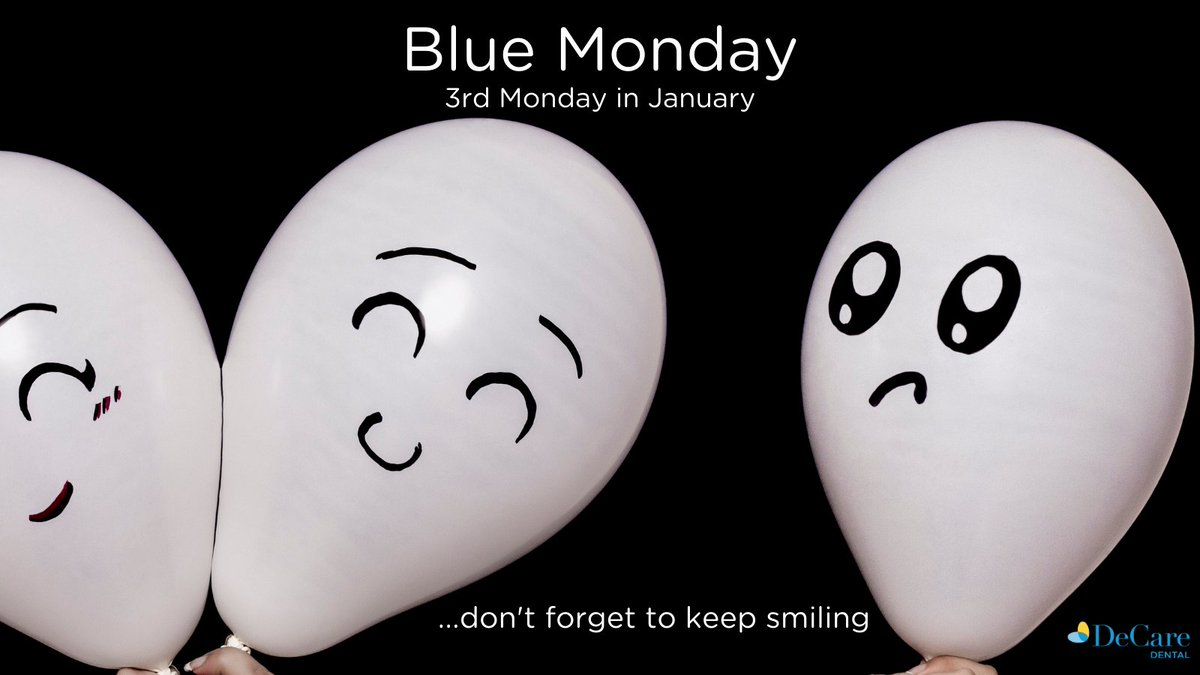 Today is #BlueMonday ...don't let it be😉  Chin up, keep going (you're doing amazing!!!) and keep smiling😀  #HappyMonday #inthistogether #wellbeing #positivemindset