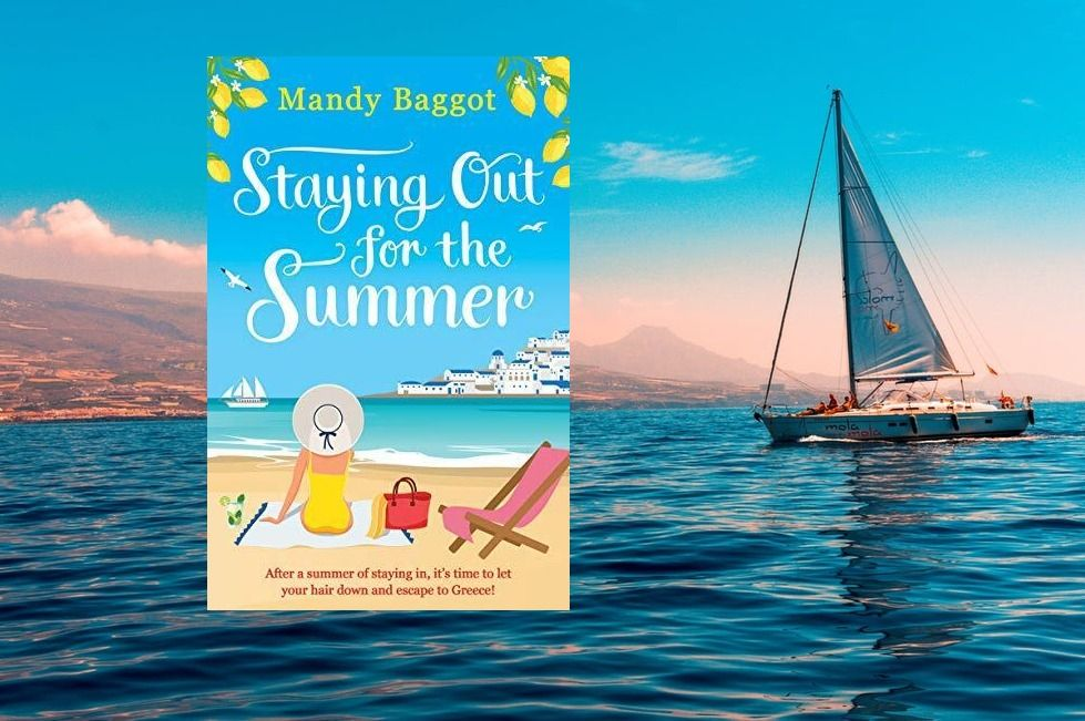This #BlueMonday it's time to think about summer! ☀️ Lucie's had a hell of a year on the NHS frontline. But now it's time for a well-earned break working on a tan line! 👙 Pre-order STAYING OUT FOR THE SUMMER today!  @Aria_Fiction #books #summer #escape