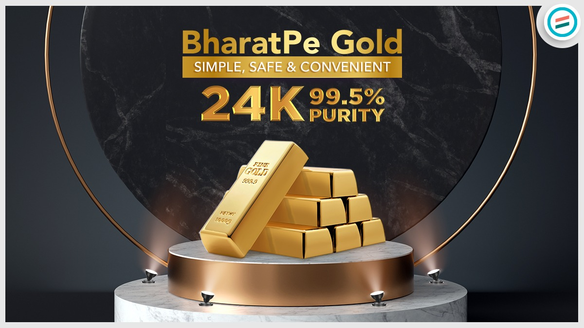 100% safe secure and convenient investment for sure with BharatPe Digital Gold.  Buy Now -->   #BharatPeGold #digitalgold #shopkeepers #Merchants #BusinessGrowth #Growth #growthpartner #UPI #Safe #qualityproducts #digitalgold #goldgifts #gold #investment