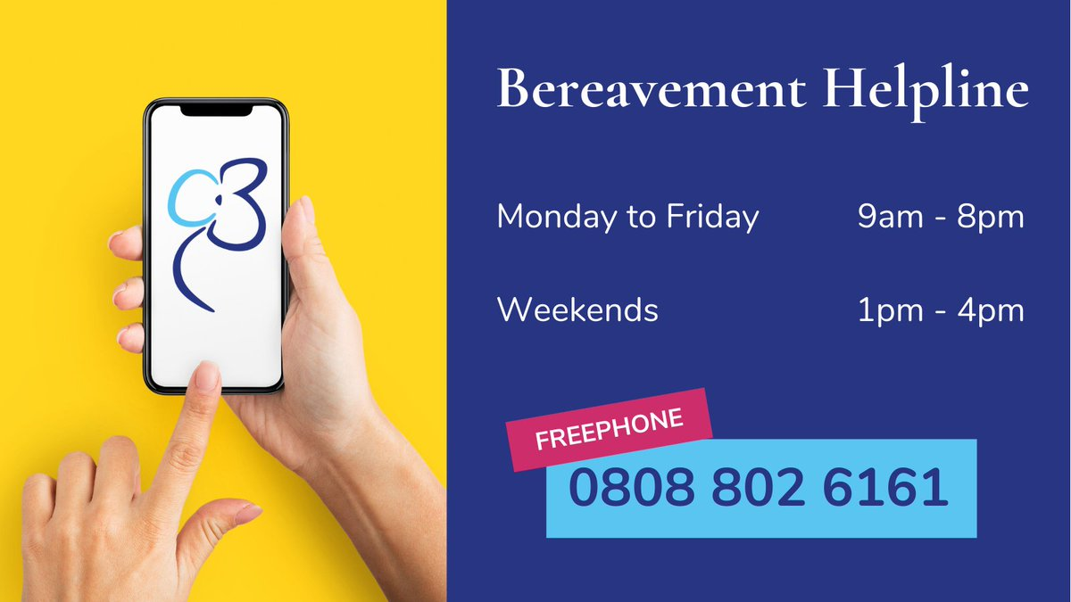 If you need support with a bereavement - recent or past - please pick up the phone to one of our trained volunteers.  You are not alone. We are here to help 💙  #grief #grieving #bereaved #bereavement #loss #death #support #charity #Scotland