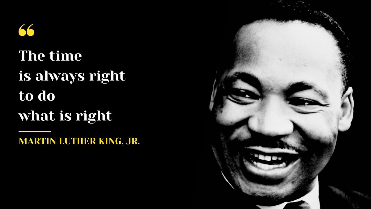 As we celebrate Martin Luther King Jr. day, we are reminded of the tremendous change generated by inspiring leaders who dared to challenge the reality they lived in, and of the work that still awaits us today in our efforts to make our world a better, happier place.