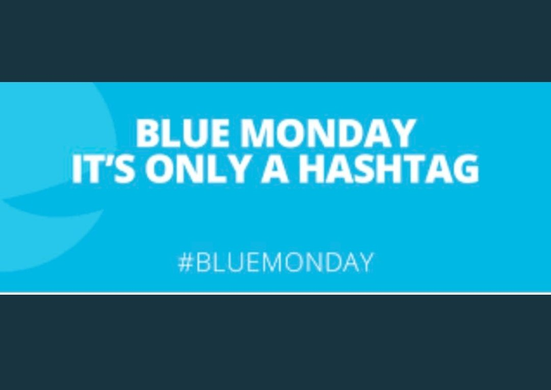 @fairplaytalks @MentalHealthBo5 @WF_Institute @UKG Today is only blue monday if you allow it to be. More msm created scaremongering. #PositiveVibes #positivemindset