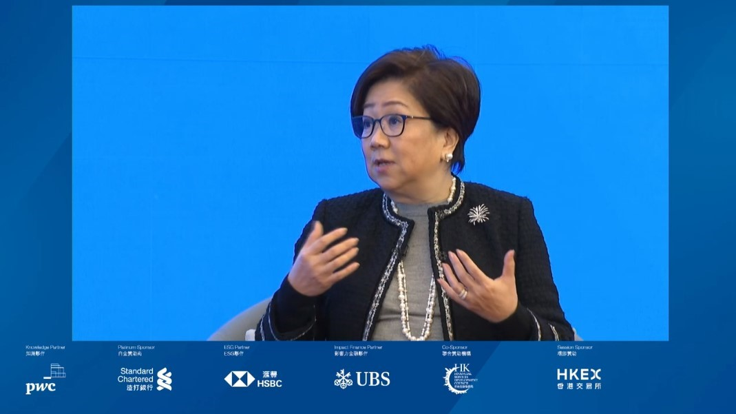 #Sustainability is redefining #HongKong's role as an international financial hub, and we need to build a vibrant #ecosystem for sustainable investing, says HKEX Chairman Cha at Asian Financial Forum @AFF_HK. https://t.co/25tF9wBza5
