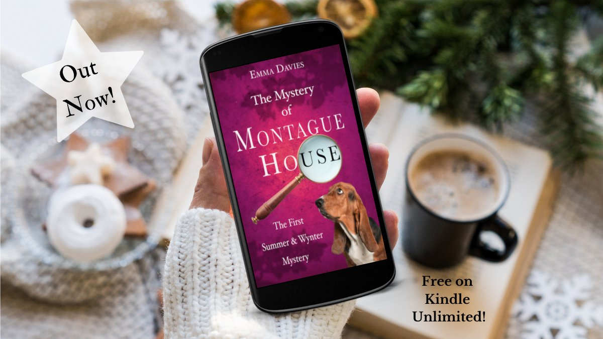 An age old mystery, a reclusive owner, tales of hidden treasure... Can you solve The Mystery of Montague House?   OUT NOW and #free on #KindleUnlimited #cozymystery #mystery #countryhouse #MurderMystery