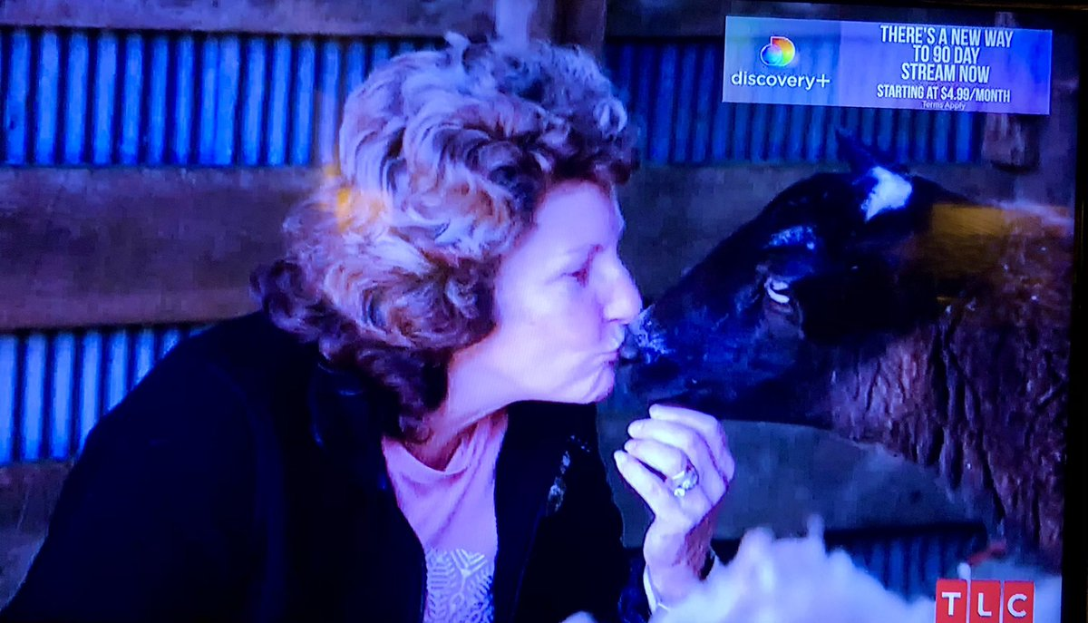 Brandon's mom sealing her deal with Black Phillip #90DayFiance