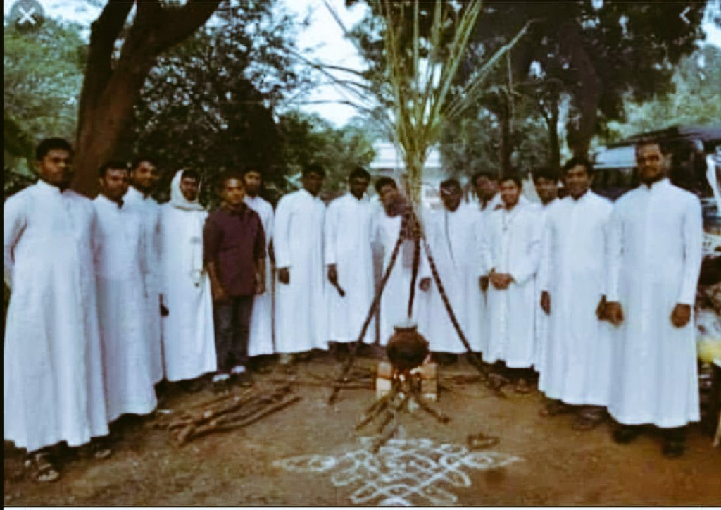 #Pongal became #Christian festival. They will do everything to #convert #Hindus.