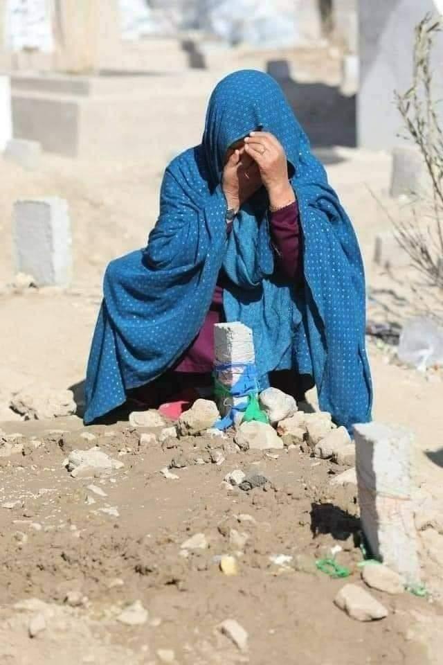 مظلوم مادر 💔 #HazaraLivesMatter