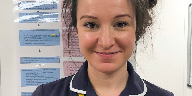 """This #BlueMonday, we're sharing some inspirational words from our nurses...   """"Always appreciate the little things because when they are taken off you, you realise that they were actually the big things."""" - Nurse Lisa, Cardiff"""