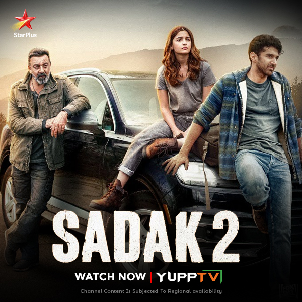 Ravi, a suicidal taxi driver, plans to close his shop when a young girl, Aarya, compels him to take her on a life-altering journey to Kailash. Watch @aliaa08 , #AdityaRoyKapur & @duttsanjay 's #Sadak2 on Catch-up of @StarBharat at  #YuppTVEU