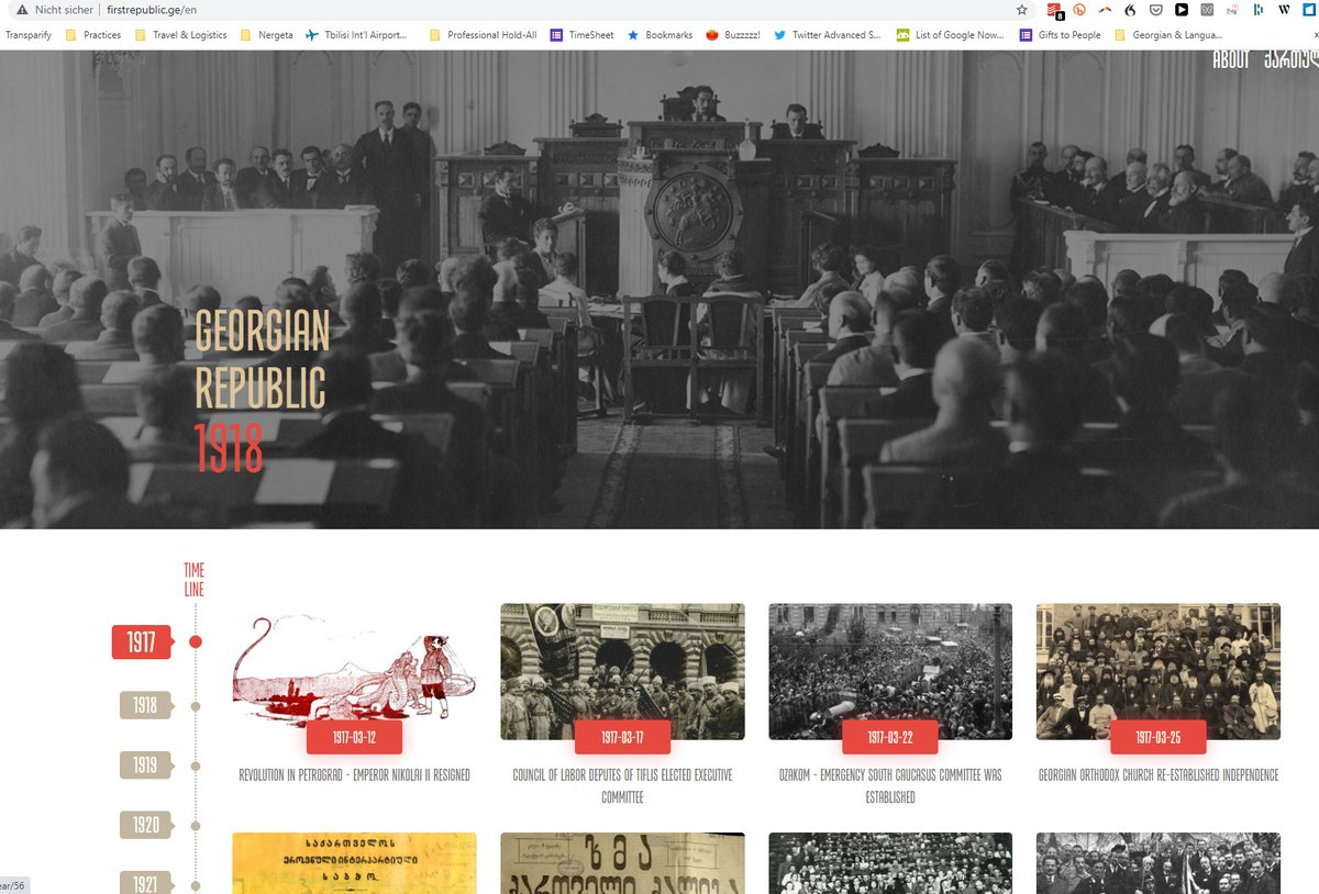 in case you had not seen it yet, this website on the First Republic (and its MPs, many minorities, incl Muslim and even a German) by @sovlab is a great illustration of how many positive features that 1st independent #Georgia had & great to explore