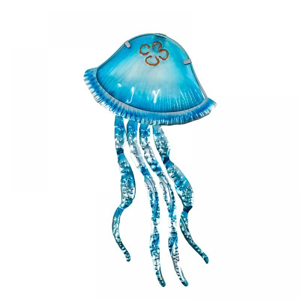 Metal Jellyfish Garden Decor #homeinterior #homecoming