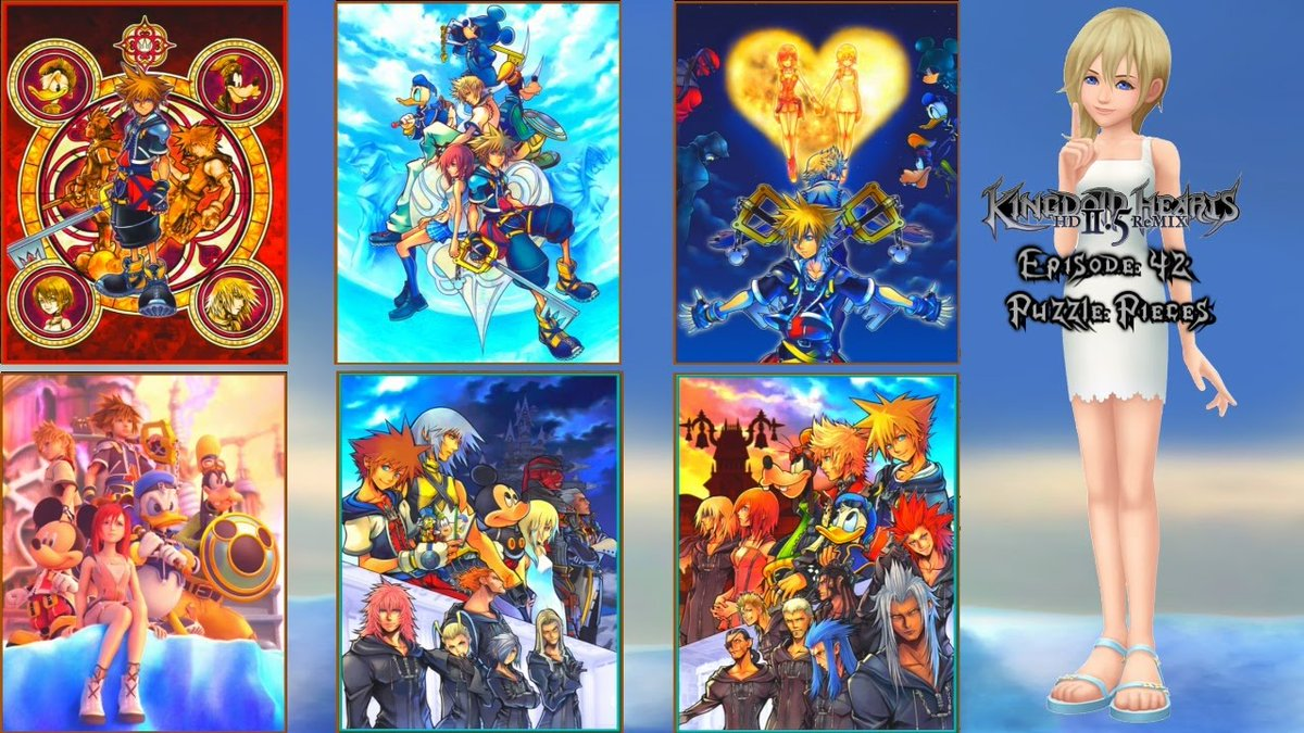 Completed all puzzles.  (KH2) #kingdomhearts #kingdomhearts2 #kingdomheartsii #Disney #SquareEnix