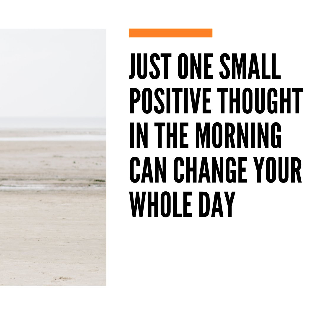 """Monday motivation 🙌🙌🙌🙌🙌  """"Just one small positive thought in the morning can change your whole day""""  #marketing #marketingcampaign #motivationalquotes #motivation"""