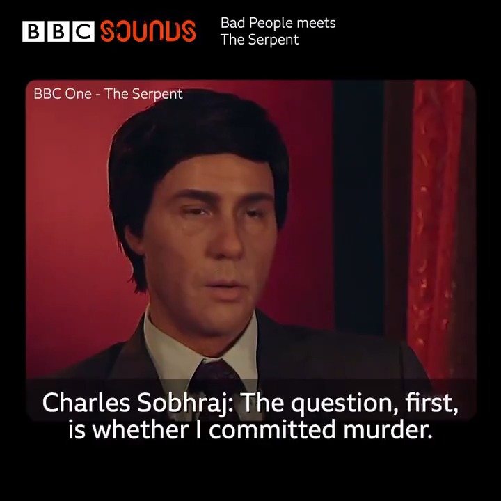 Who is Charles Sobhraj?   @drjuliashaw and @sofiehagen explore the true stories of murder, theft and manipulation on Asia's hippie trail which inspired @BBCOne's crime drama series The Serpent.   Listen in full on BBC Sounds 🎧