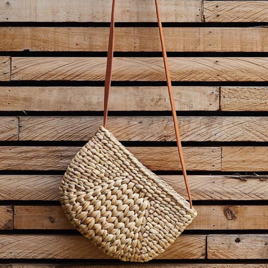 Natural fibres with recycled materials make the best bags!  #fremantle #perthisok #sustainable #ecofriendly #sustainability #zerowaste