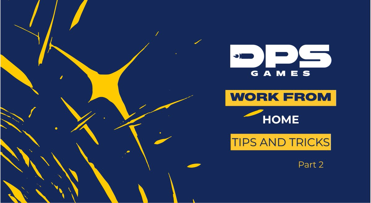 Another lockdown means another series of Work From Home Tips and Tricks! Take a look at how our DPS Gamers are staying safe and healthy this month #WorkFromHome #PlayAtHome #StayAtHome